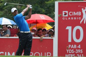 CIMB Classic – Tiger Woods In Action!