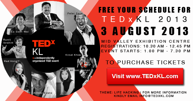 Upcoming Event - TEDxKL