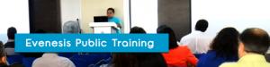 Evenesis Public Training in August