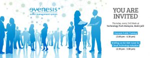 Monthly Public Training by Evenesis