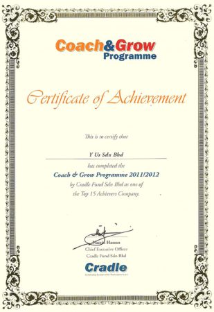 Top 15 Company Achievers 2011/2012