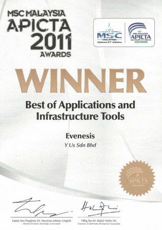 MSC Malaysia APICTA Awards 2011