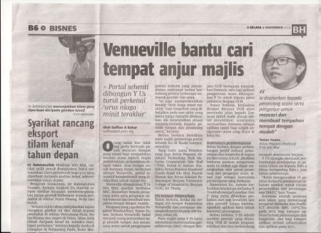 Berita Harian (4 November 2014)