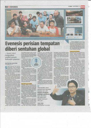 Berita Harian (20 Oktober 2014) – NADI BISNES B4