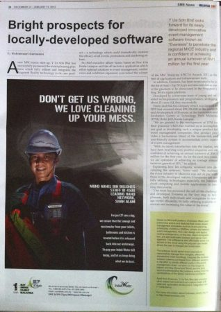 Malaysia SME (Issue Dec 31 – Jan 13 2012)