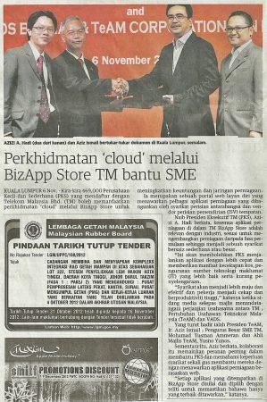 Utusan Malaysia (7 Nov 2012)