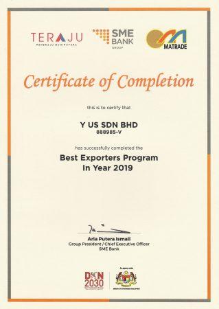 Best Exporters Program Jan 2019