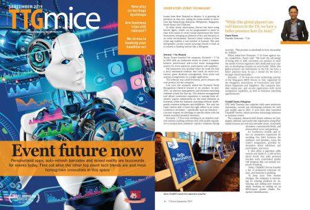Event Future Now – TTG MICE Sept 2019