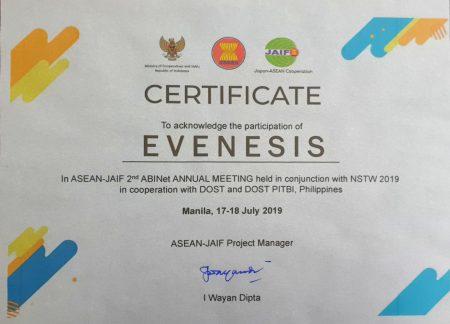 ASEAN-JAIF Evenesis Manila July 2019