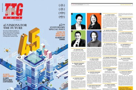 Top 40 Agents of Change – TTG Asia May 2019